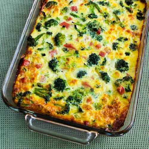 1-broccoli-ham-mozzarella-egg-bake-500x500-kalynskitchen
