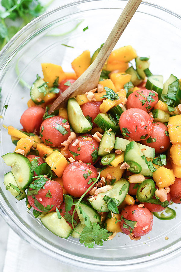 cucumber-basil-and-watermelon-salad-foodiecrush-com-019